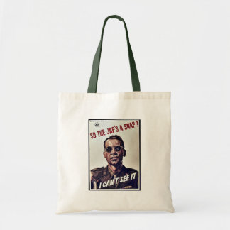 So The Jap s A Snap Tote Bags