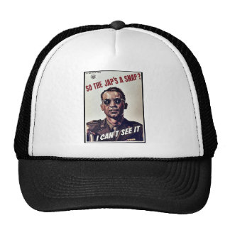 So The Jap s A Snap Trucker Hats