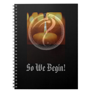 """So We Begin"" Journal"
