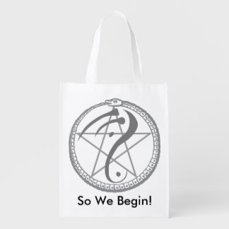 """So We Begin"" Reusable Bag"