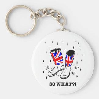 So what?! key ring