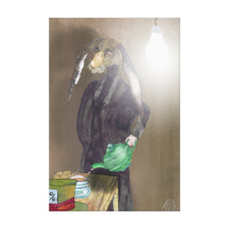 SO - WHERE IS ALICE? CANVAS PRINT
