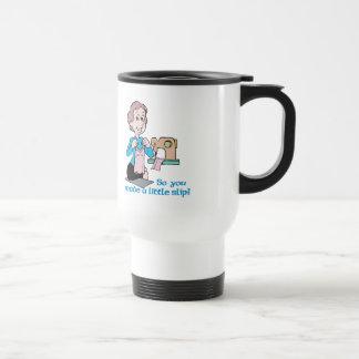 So You Made A Little Slip - Word Play Travel Mug