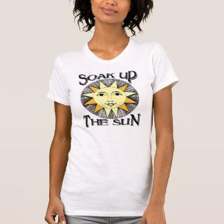Soak up the sun spring break t shirt