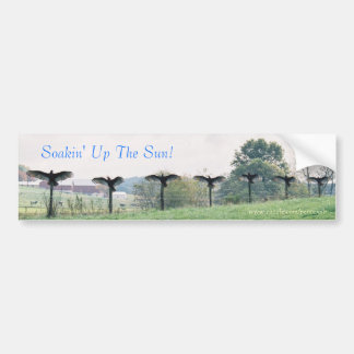 Soakin' Up The Sun-Bumper Sticker