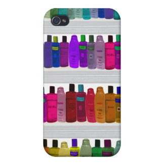Soap Bottle Rainbow - for bathrooms, salons etc iPhone 4/4S Covers