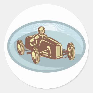 Soap Box Derby Car Stickers