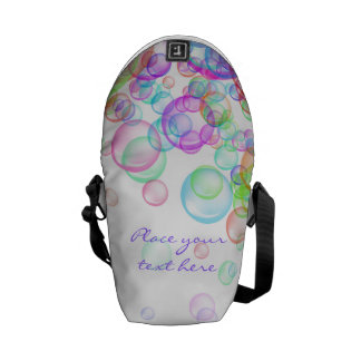 Soap Bubbles Courier Bag