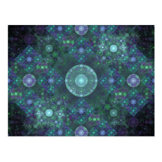 """Soap Bubbles"" Fractal Art Postcard"