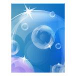 Soap bubbles full color flyer