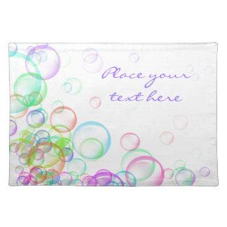 Soap Bubbles Placemat