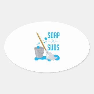Soap N Suds Sticker