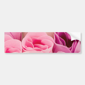Soap roses car bumper sticker