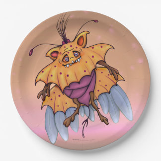 SOAP TRONIX ALIEN PAPER PLATE 9 inches MONSTER