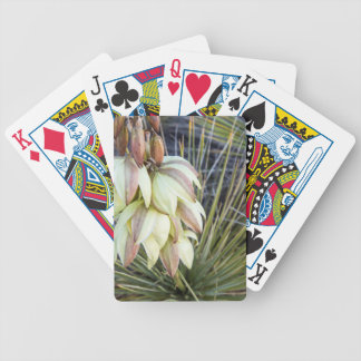 Soaptree Yucca Flowers In The Upper Missouri Bicycle Playing Cards