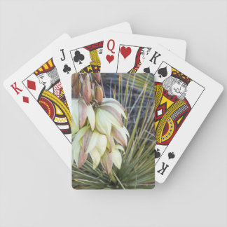 Soaptree Yucca Flowers In The Upper Missouri Playing Cards