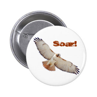 Soar 6 Cm Round Badge