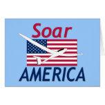 SOAR AMERICA GREETING CARDS