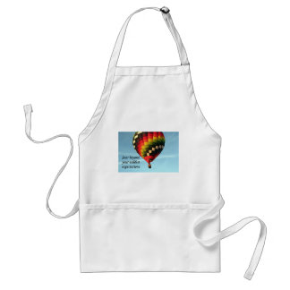 Soar beyond your wildest expectations: balloon 1 standard apron