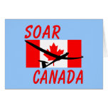 SOAR CANADA SOARING GLIDING CARD