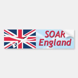 Soar England Car Bumper Sticker