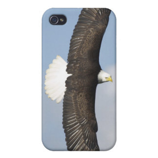 Soaring Bald Eagle Wildlife Supporter iPhone Cases Covers For iPhone 4