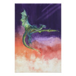Soaring Dragon Print