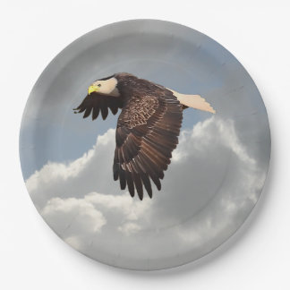 SOARING EAGLE PAPER PLATE