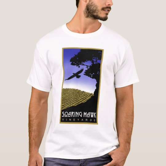 Soaring Hawk Vineyards  Men's T-Shirt