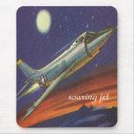 soaring-jet, mousepad