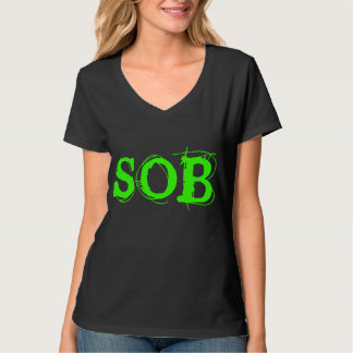 SOB Gag Slide Over Babe T-Shirt