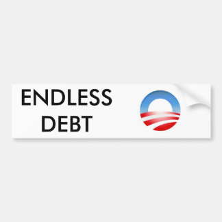 sob logo, ENDLESS DEBT Bumper Sticker