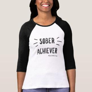 Sober Achiever Baseball T-Shirt