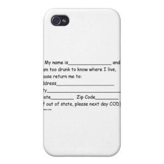sober and girlfriends iPhone 4 case