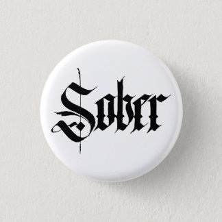 Sober Badge / Button