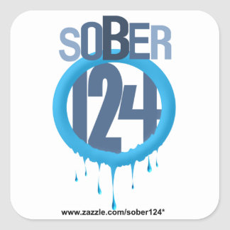 Sober-ring Logo Stickers