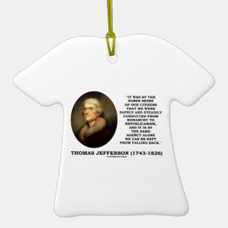 Sober Sense Of Our Citizens Monarchy Republicanism Christmas Ornament