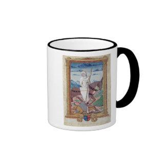 Sobriety Against Gluttony Ringer Mug