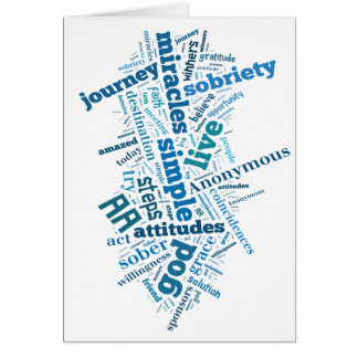 Sobriety Birthday/Anniversary Card