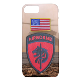 SOCAFRICA Special ops AFRICOM Veterans Vets Patch iPhone 7 Case