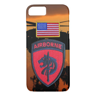 SOCAFRICA Special ops AFRICOM Veterans Vets Patch iPhone 8/7 Case