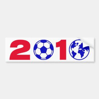 Soccer 2010 bumper sticker