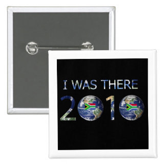 SOCCER 2010 - I WAS THERE 15 CM SQUARE BADGE