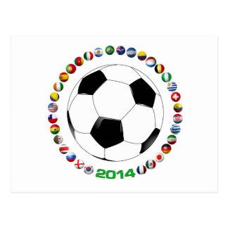 Soccer 2014  1523 postcard