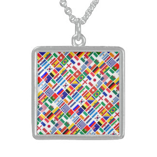 SOCCER 2014 STERLING SILVER NECKLACE