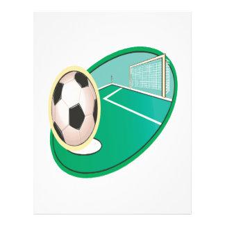 Soccer 21.5 Cm X 28 Cm Flyer