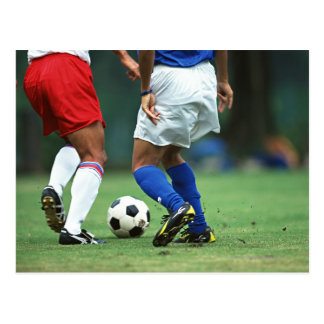 Soccer 3 postcard