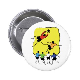 Soccer 6 Cm Round Badge