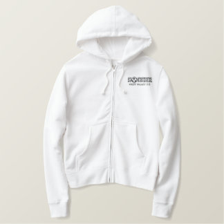Soccer - Add your school Embroidered Hoodie