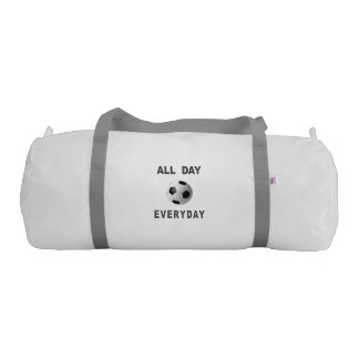 Soccer All Day Everyday Gym Duffel Bag